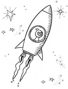Criptium spaceship